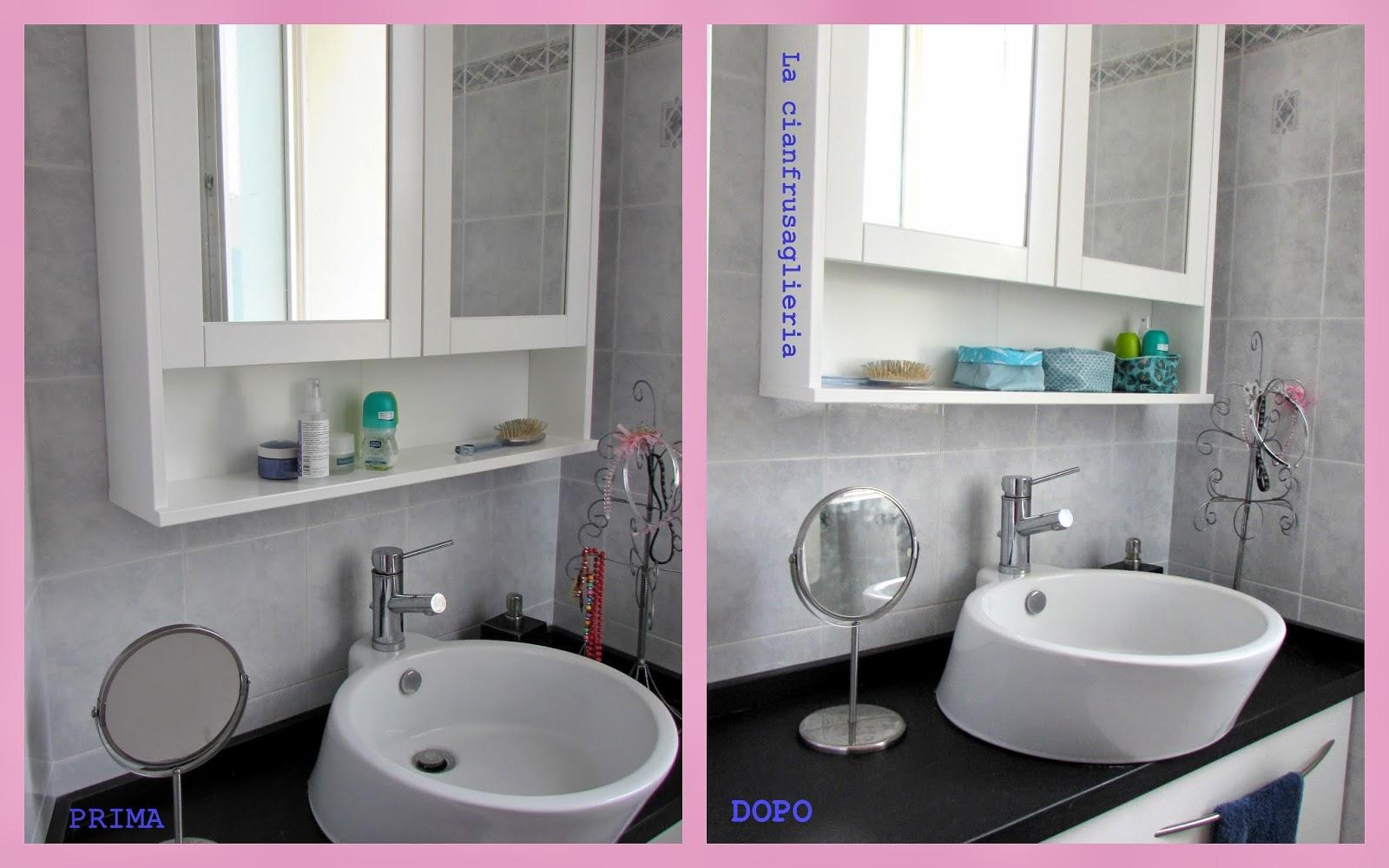 La cianfrusaglieria contenitori in stoffa per il bagno colore e ordine - Contenitori per bagno ...