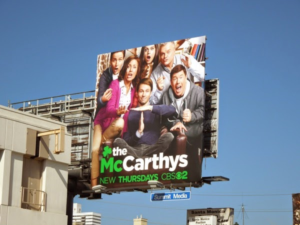 The McCarthys season 1 sitcom billboard
