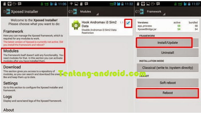 Tutorial internet GSM di andromax c2 new kitkat