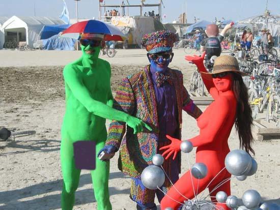 #1--Burning Man. Set in the harsh climate of Nevada's Black Rock Desert, ...
