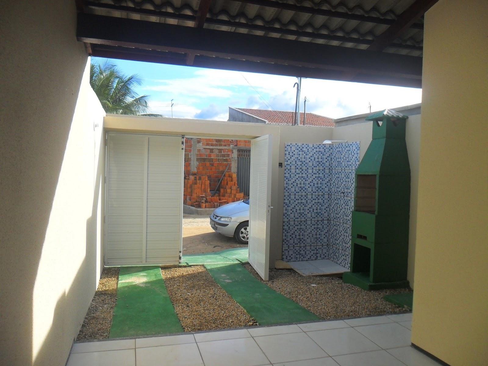 banheiro social sala e cozinha (estilo americano) 1 garagem área #43886C 1600x1200 Banheiro Americano