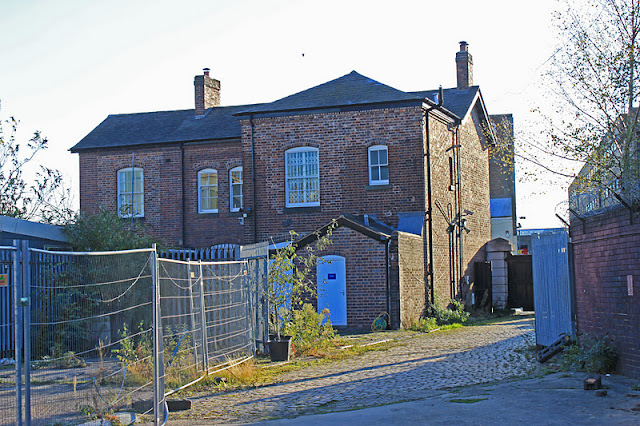 Back of Canal House by Captain Ahab