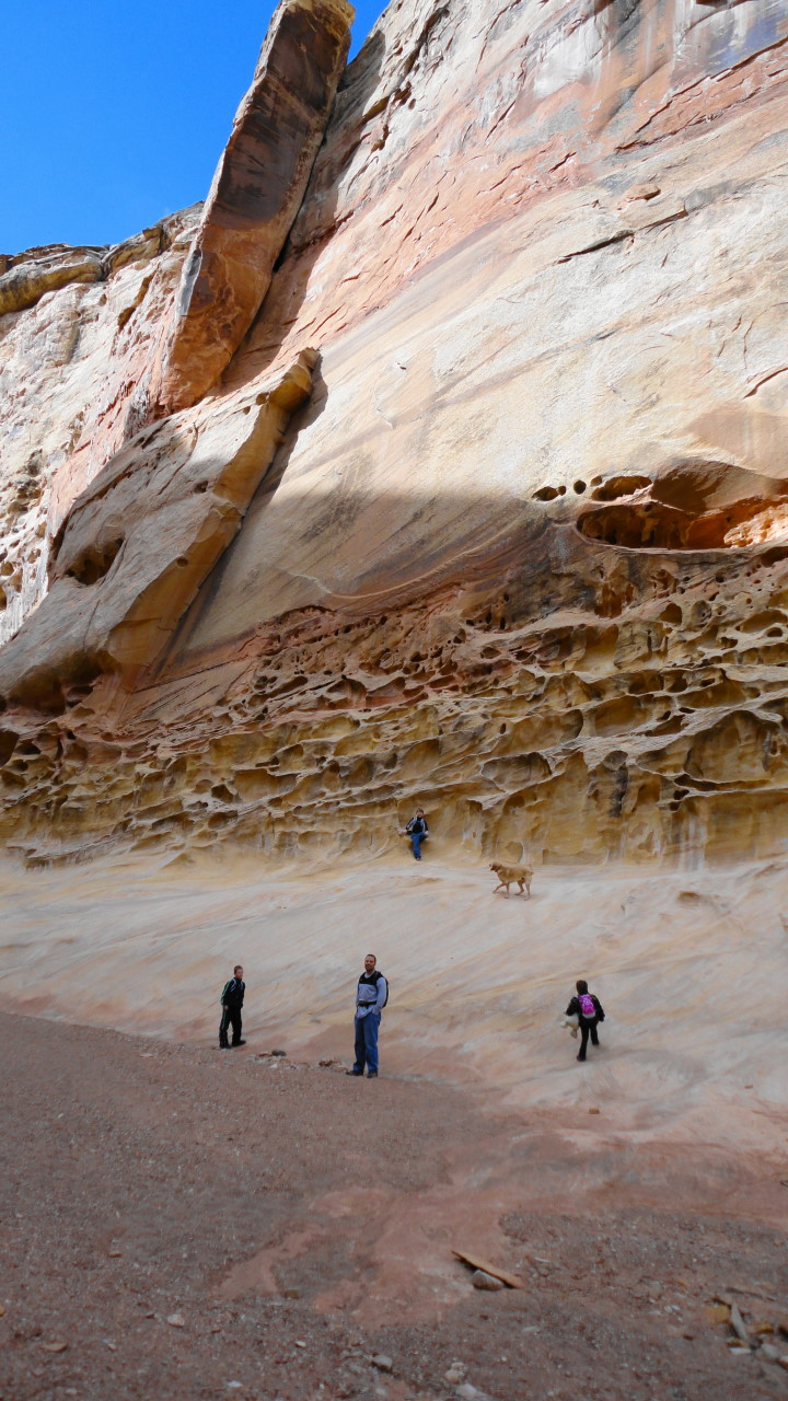 Side By Side Atv >> Hiking Crack Canyon San Rafael Swell