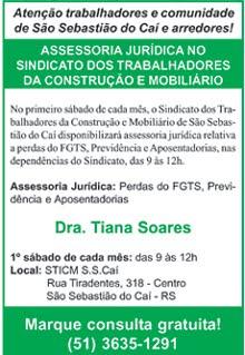Assessoria Jurídica no STICM Caí