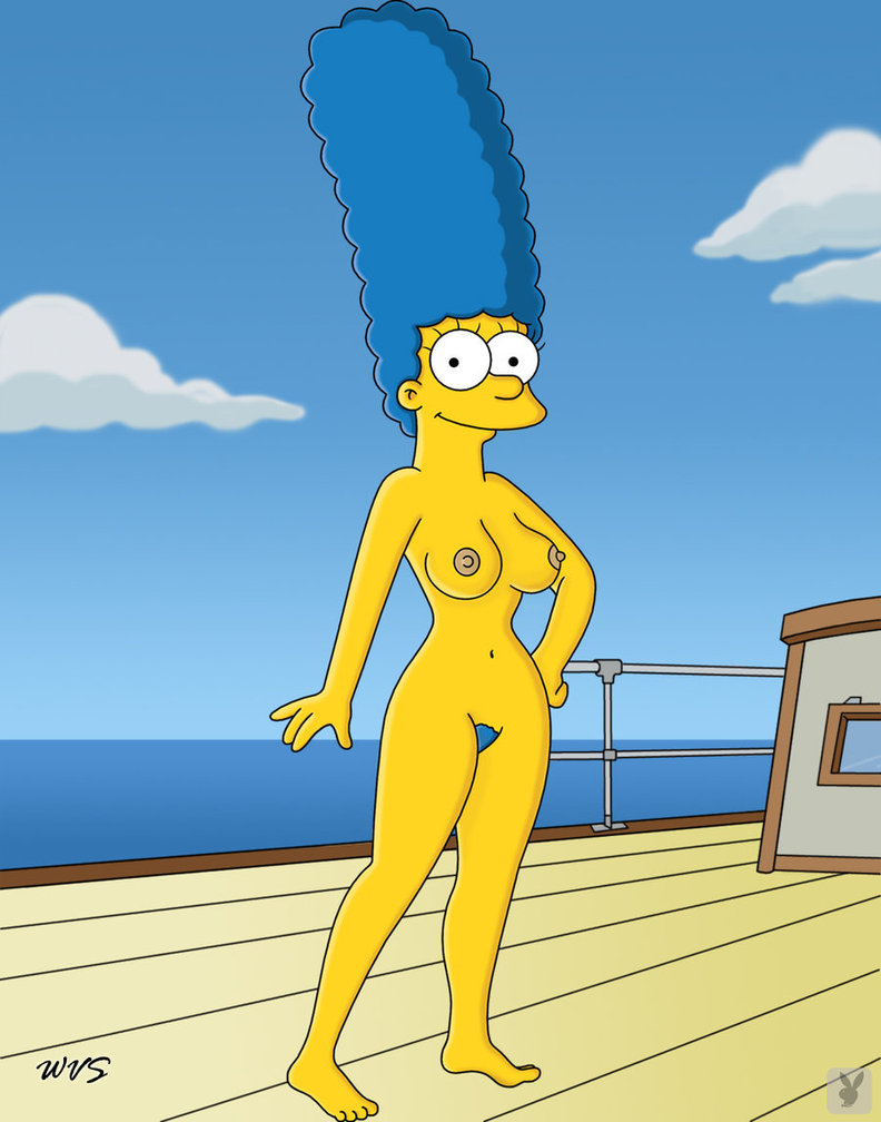 Words... super, Marge Simpson and bart simpson naked