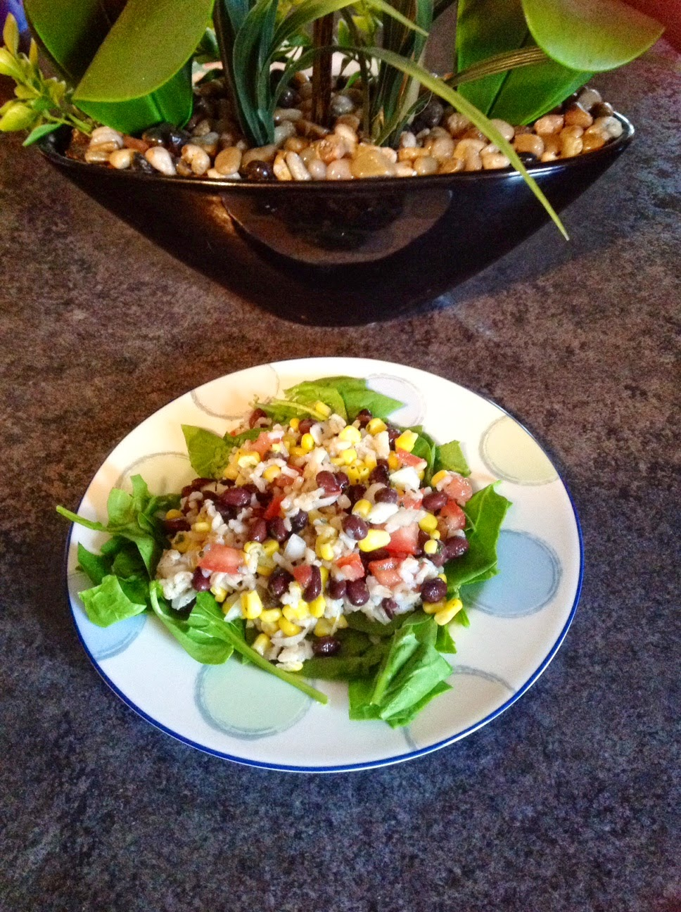 Clean Eating Recipe, Southwestern Salad