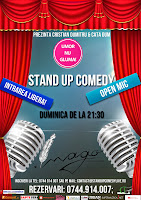 Stand-Up Comedy Open Mic Seara Amatorilor