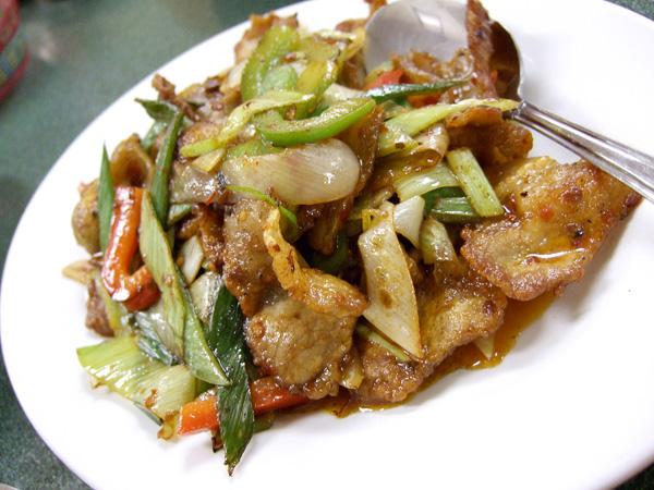 Sliced Pork Recipe Recipe Szechuan Pork