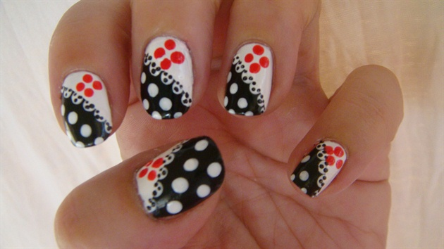 Nail art designs with dotting tool prinsesfo Gallery