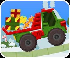 Game chở quà giáng sinh, chơi game vui online