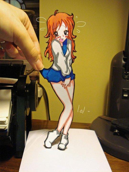 Figuras Anime en papel. 283360_10150262342534819_213182229818_7274034_8037779_n