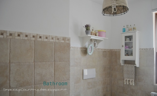 Bathroom tour in my home - shabby&countrylife.blogspot.it