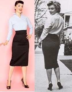 50 luvun pukeutuminen naiset
