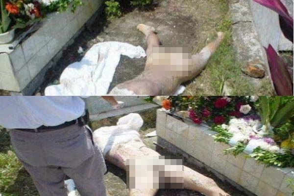 5 Gambar Mayat Wanita Digali Dan Dirogol Dengan KEJAM