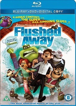 Flushed Away 2006 Hindi Dubbed Dual BRRip 200MB