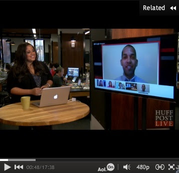 @tfnow Talks Fashion On HuffPost Live.