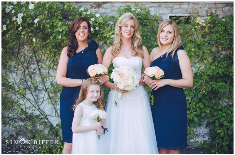 Bridal group photo