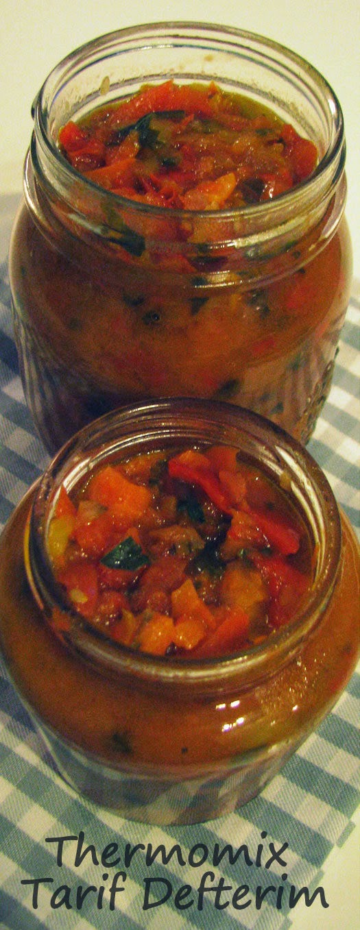 Pepper Salsa Recipe with Thermomix