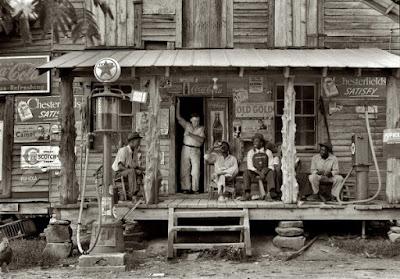 Antiguas estaciones de gasolina en Estados Unidos