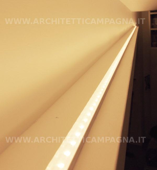 Tagli Di Luce Soffitto: Illuminazione led per ufficio bar ristoranti.