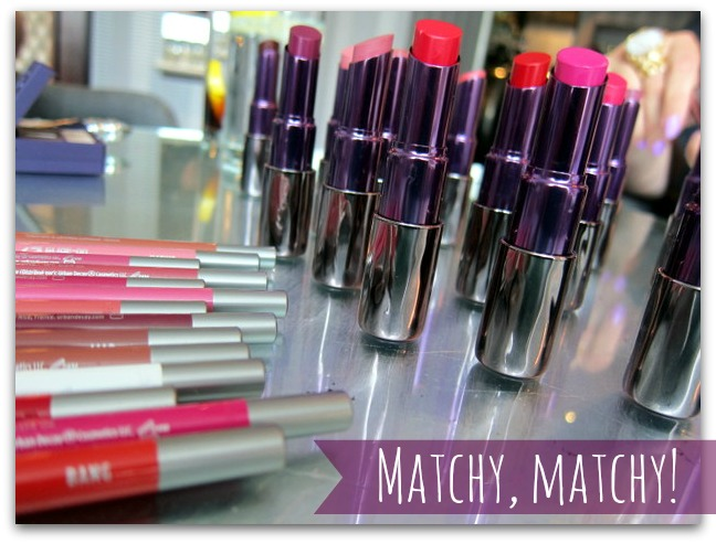 Urban Decay Revolution Lipstick and 24-7 Lip Liners