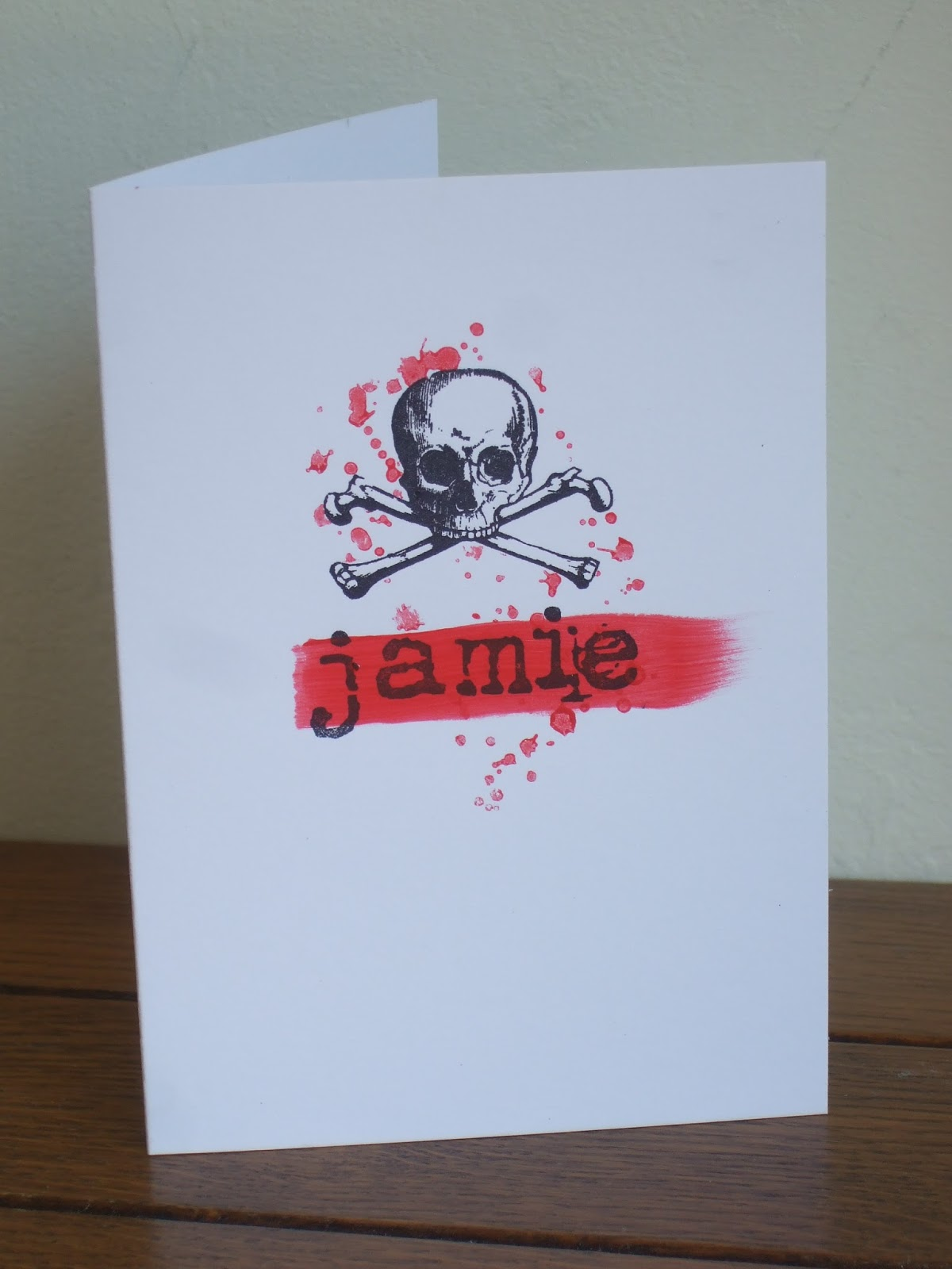Paperartsy joanne wardle project 2 gothic birthday card as a radiographer i love all things bony so i was really excited by paperartsys very detailed skull images i wanted to use some of these halloween bookmarktalkfo Gallery