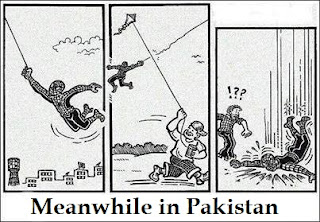 Meanwhile Spiderman in pakistan