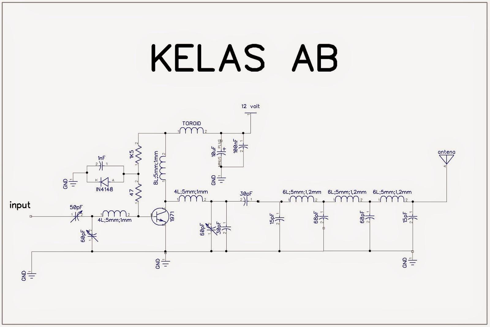 elektronika  rf amplifier