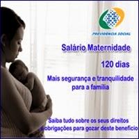 salário-maternidade, Renda mensal, INSS, Previdência