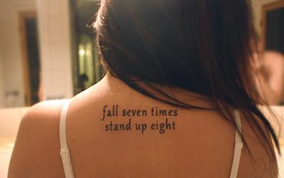 Tatuagens Femininas com Frases de Músicas