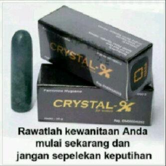 Crystal X, Cara Menghilangkan Keputihan