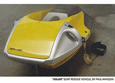 Surf Rescue Vehicle (SRV) Goldie