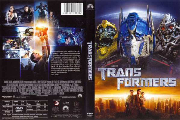 Transformers Pictures: Transformers Movie DVD Front And ...