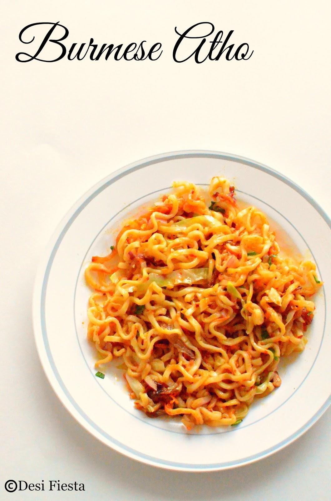Burmese Noodle Recipes