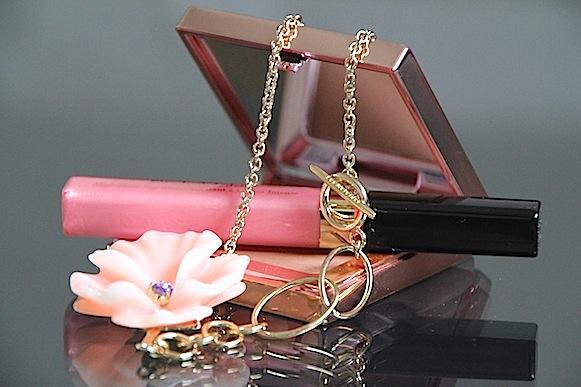 elizabeth arden collection rose aurora poudre bronzante gloss à lèvres