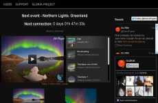 Aurora Boreal en vivo online entre el 23 y el 28 de agosto: Red Global de Telescopios Robóticos (GLORIA)