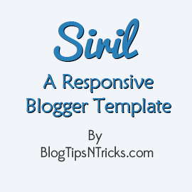 Siril a Responsive Blogger Theme