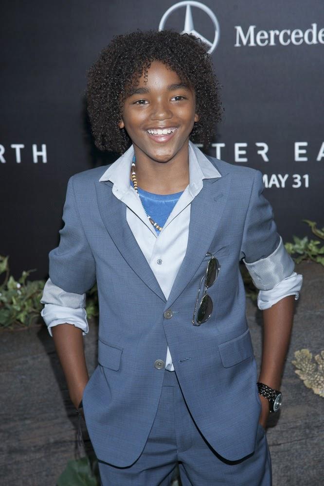 jeune homme enfant noir coupe coiffure