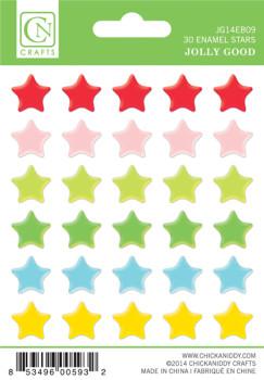 Jolly Good Enamel Stars