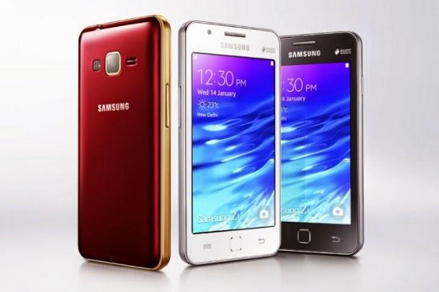 Samsung Z1 Tizen OS Harga Spesifikasi