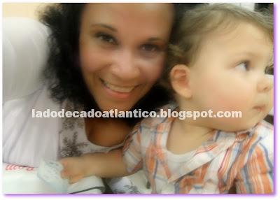 Foto de mãe e filho