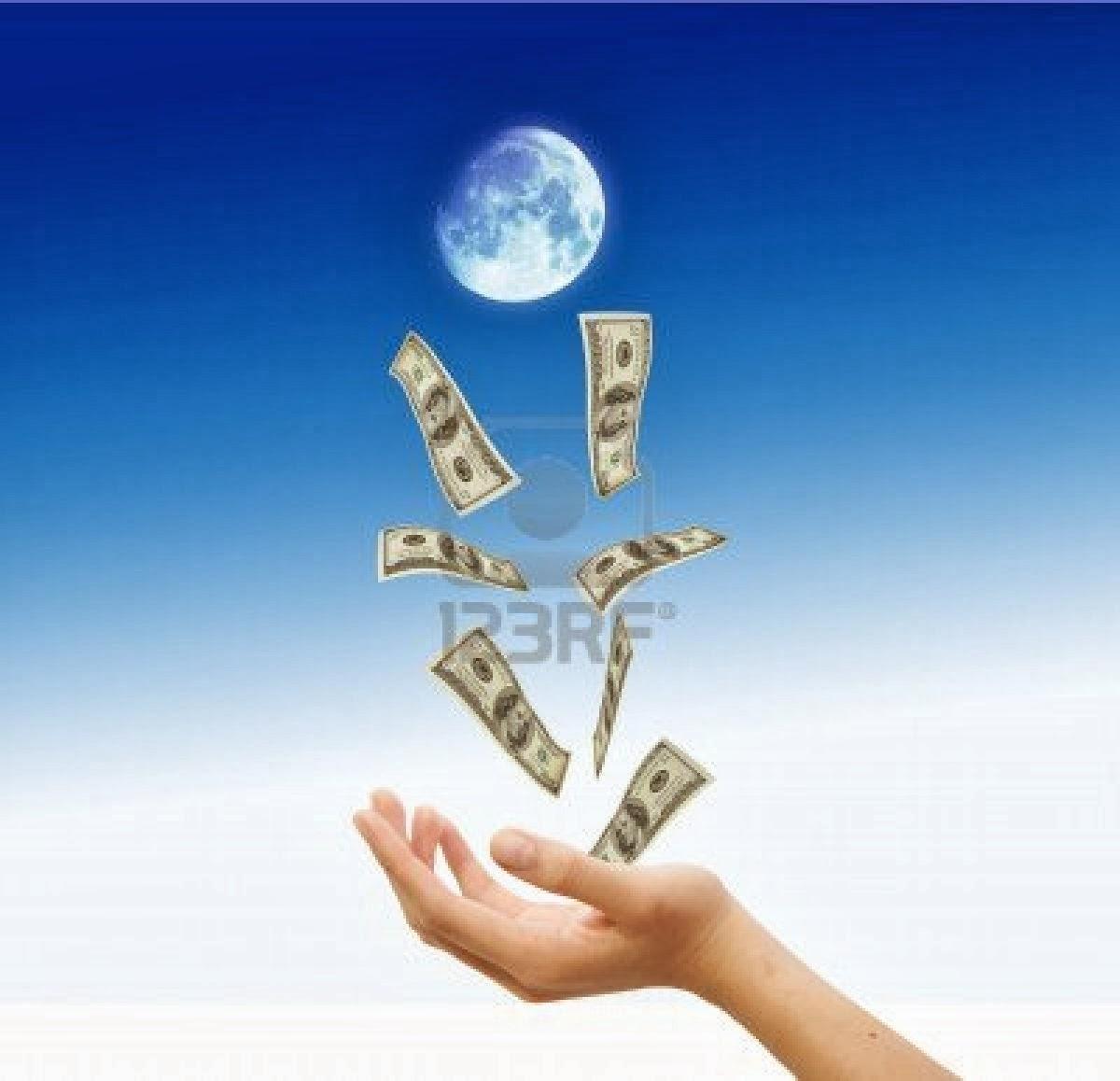 Esencia del ser ritual de luna llena para atraer el dinero - Atraer el dinero ...
