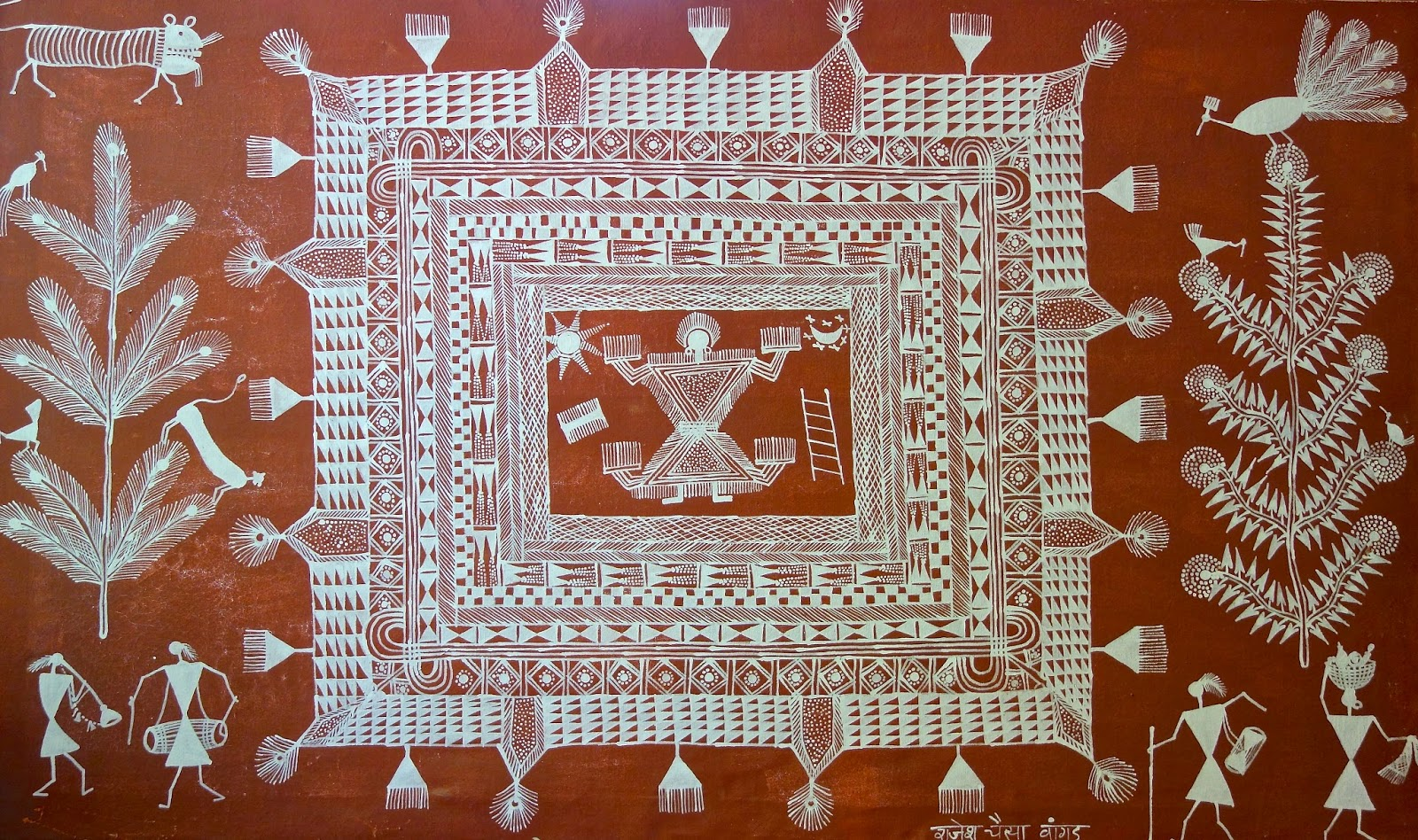 Art and music of warli tribals from maharashtra indian art craft art and music of warli tribals from maharashtra altavistaventures Image collections