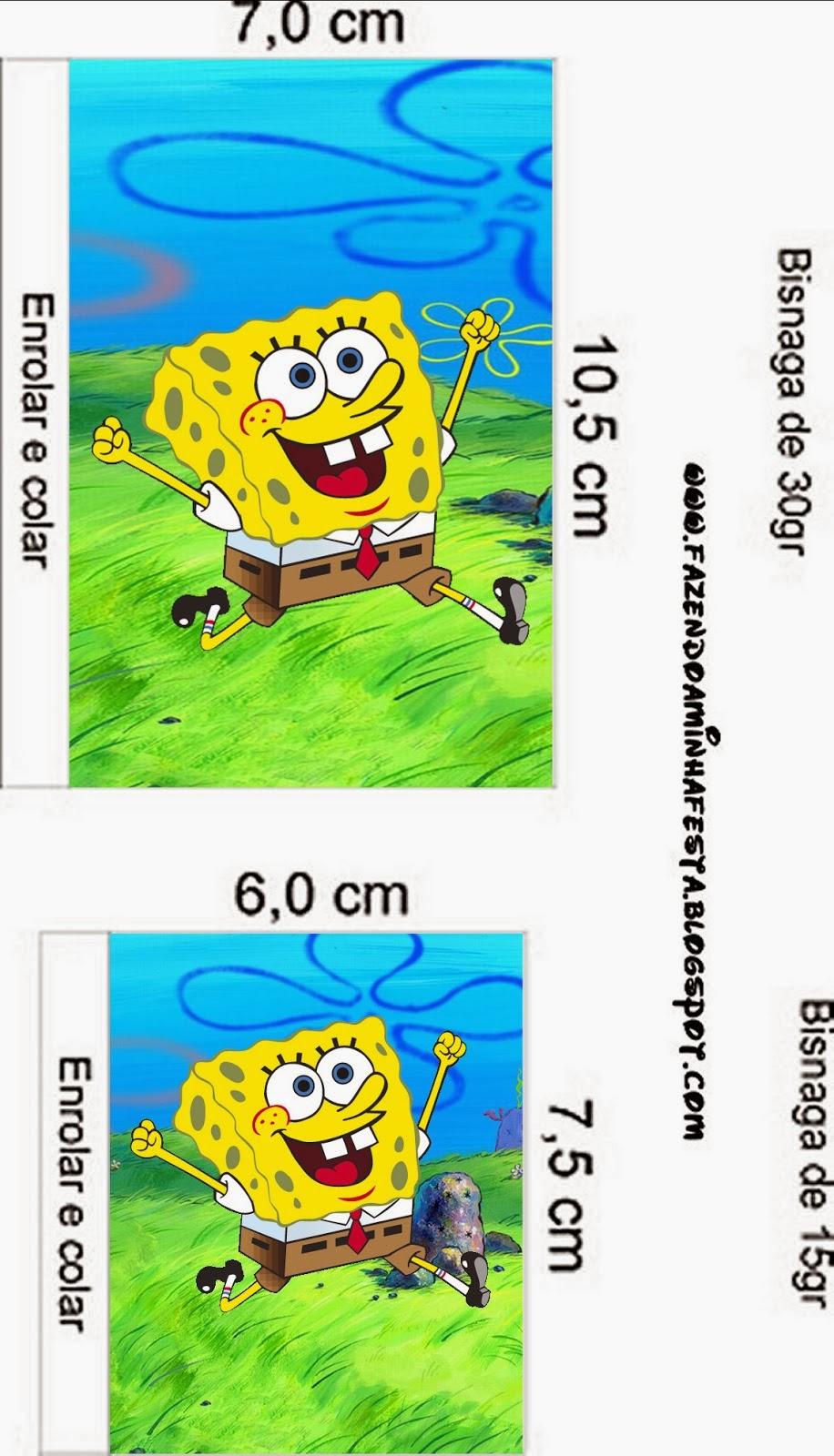 spongebob squarepants free printable candy bar labels is it