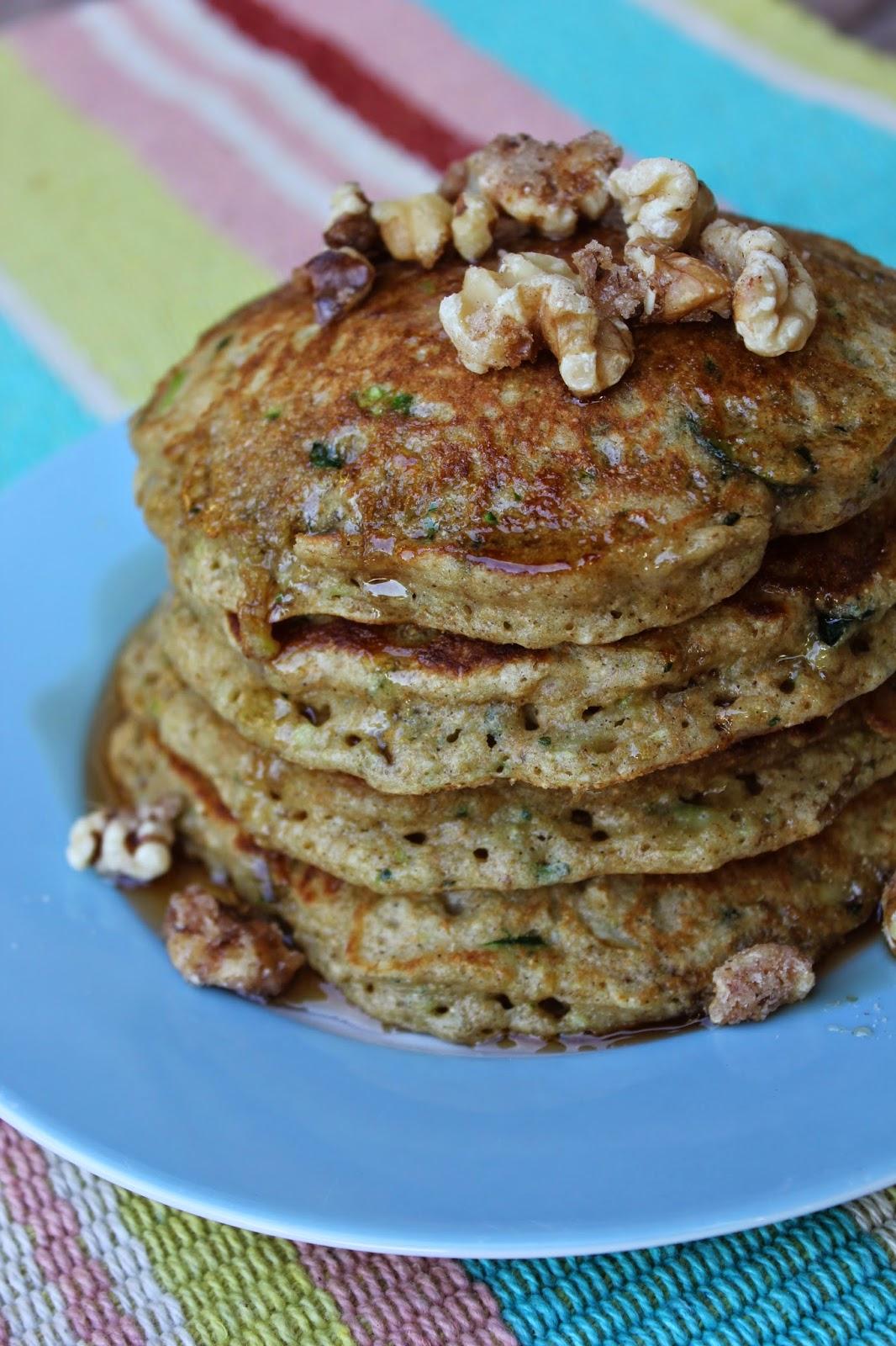 Recipe:  Breakfast, Garden Recipes, Recipe:  Food Storage, Recipe:  Grains, whole grain pancakes, zucchini pancakes, Recipe:  Healthy, Recipe:  Healthy Recipes, Deals to Meals