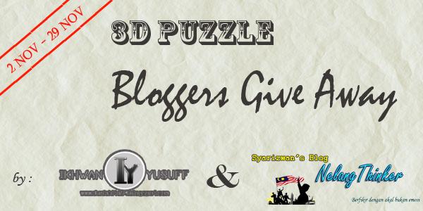 3D GIVEAWAY BY IY&SYARIZWAN