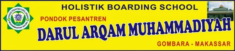 Pesantren Darul Arqam Muhammadiyah Gombara-Makassar