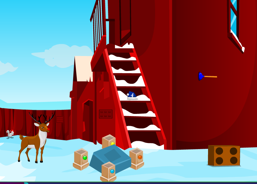 AjazGames Christmas boy escape Walkthrough
