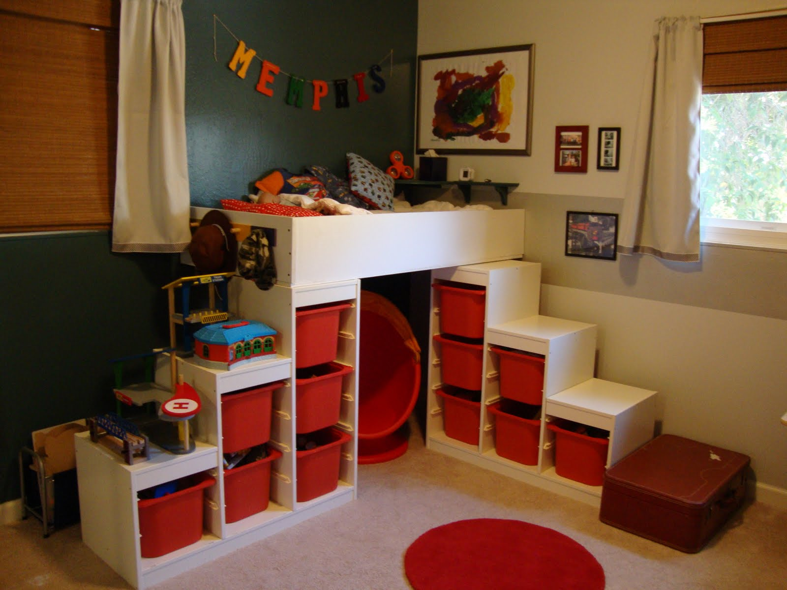 diy un lit mezzanine pour enfant. Black Bedroom Furniture Sets. Home Design Ideas