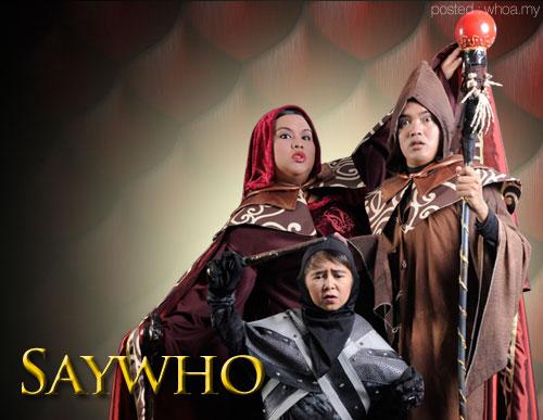 Tiada peserta Maharaja Lawak Mega 2014 dari Indonesia, Saywho Maharaja Lawak Mega, gambar Saywho